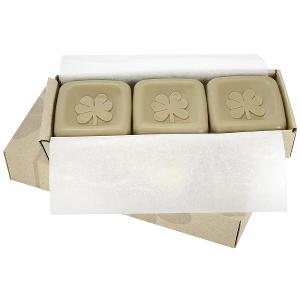 3 TRIPLE MILLED Dead Sea Mud Soaps with Eucalyptus