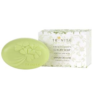 Moisturizing Luxury Soap Verbena with Basil Enriched with Dead Sea Minerals and Shea Butter