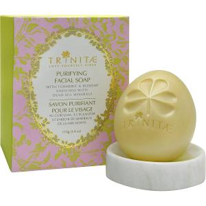 Purifying Facial Soap With Turmeric & Rosehip Enriched With Dead Sea Minerals