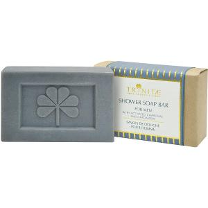 Shower Soap Bar For Men With Activated Charcoal And Cardamom
