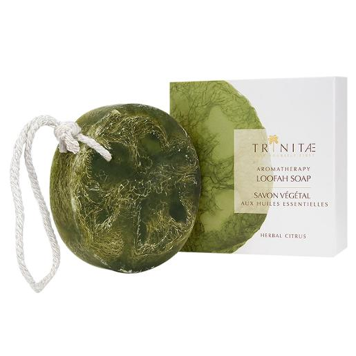 Aromatherapy Loofah Soap Herbal Citrus