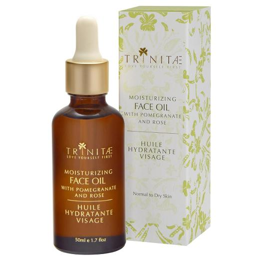 Moisturizing Face Oil with Pomegranate & Rose