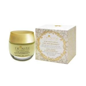 Ultra Moisturizing Face Nourishment Shea Butter Rose & Curcumin Enriched With Dea Sea Minerals