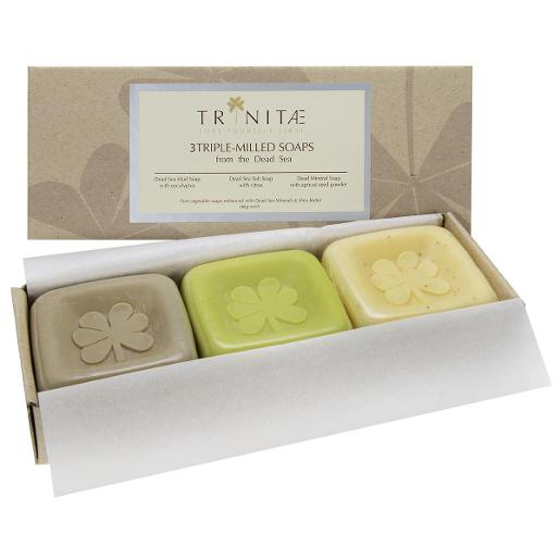3 Triple Milled Soaps from the Dead Sea